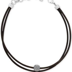 Lucky Brand Leather Chocker Necklace